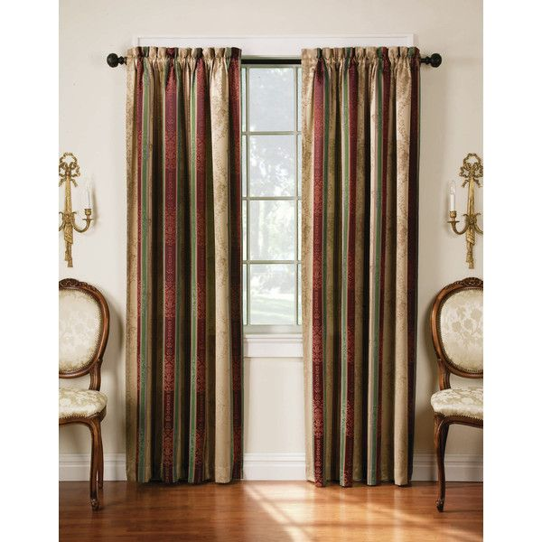 Black And Tan Gingham Curtain Panels
