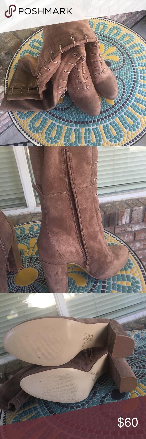 9558190293e Chinese Laundry Benita Over The Knee Boot. Worn once. Size 10 Chinese  Laundry Shoes Over the Knee Boots