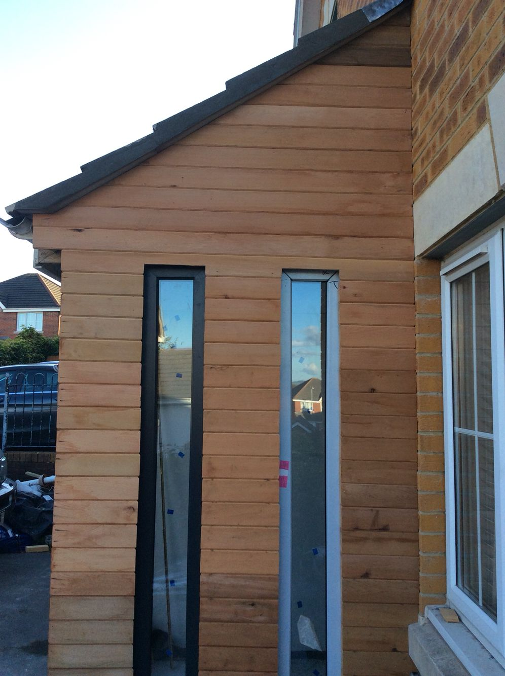 Porch Extension In 2019 Porch Extension House Styles
