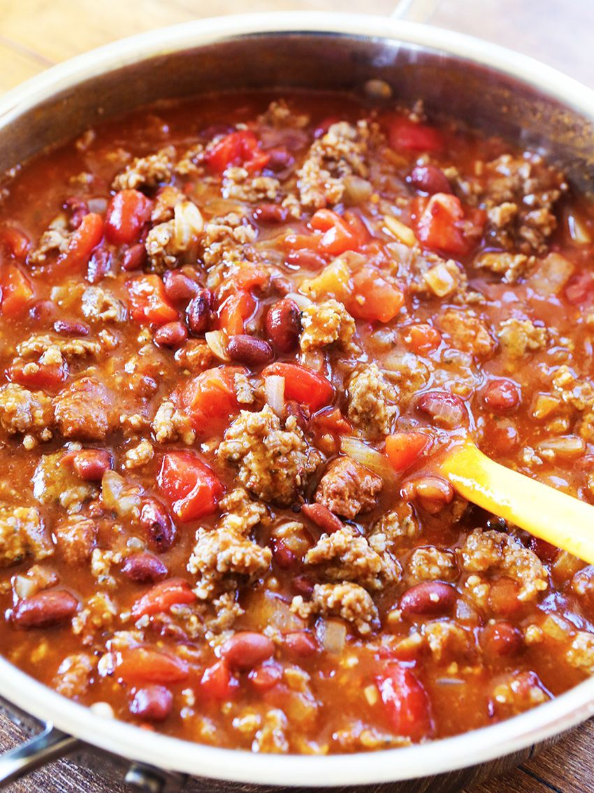 5 Ingredient Chili To Simplify Dinner Tonight Pip And Ebby Recipe Best Easy Chili Recipe Chili Recipe Easy Easy Homemade Chili