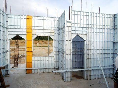 New Concrete Home Construction Technology Concrete House Concrete Houses Underground Homes