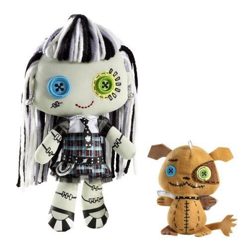 Monster High Frankie Stein Plush Doll. $29.99 | Monster High | Pinterest