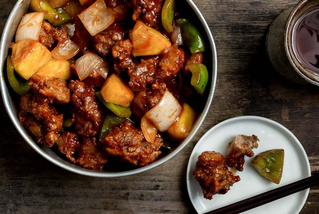 Crispy Sweet & Sour Pork - Traditional Chinese Cantonese