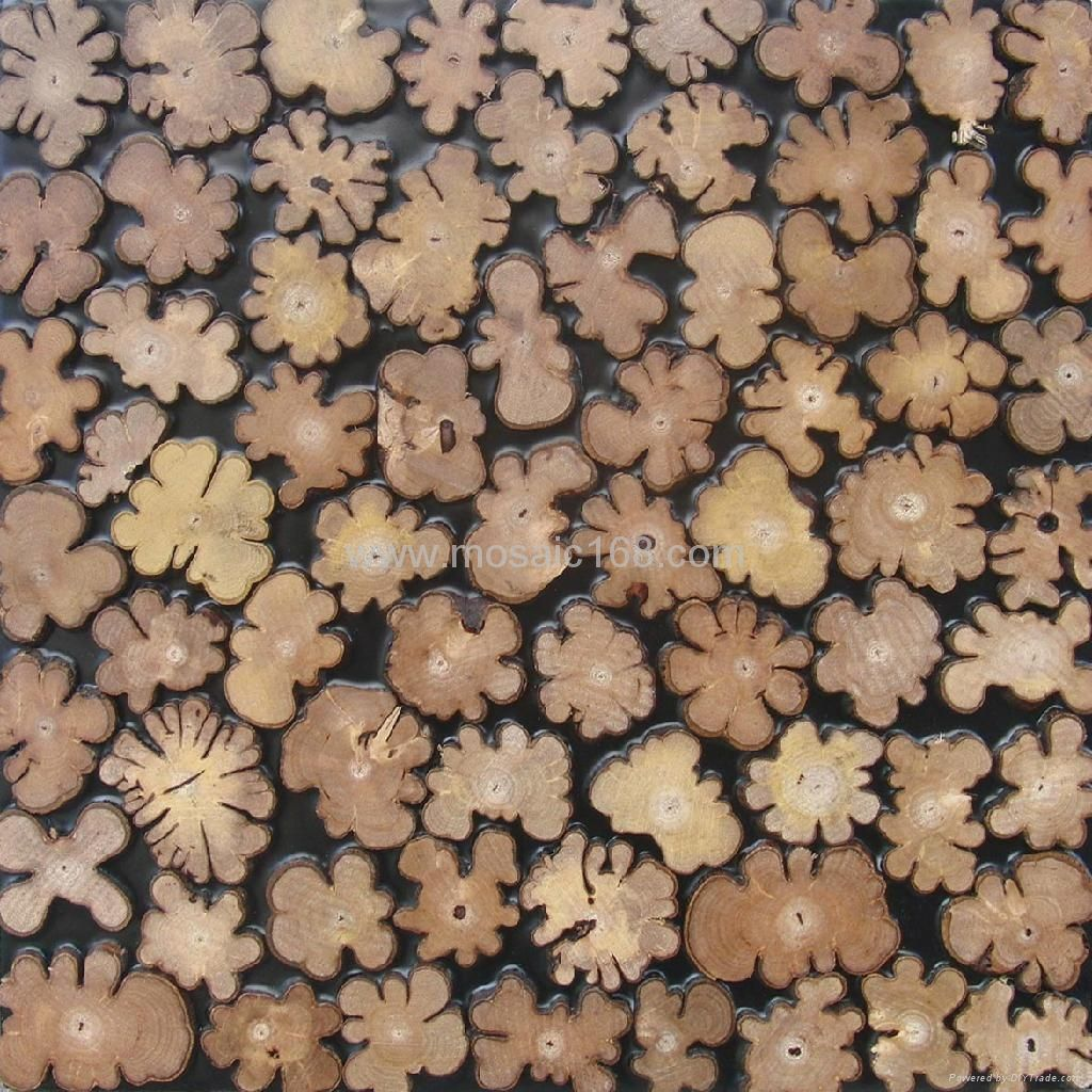 Decorative Wood Tiles 3D Cabinet Wood Panel  Jhs07  Gimare China Manufacturer