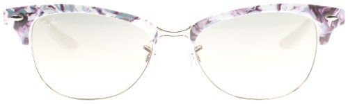 Ray-Ban 4132 832/32 Blue and Lilac Marble Cathy Clubmaster Wayfarer Sunglasses Lens Category 3