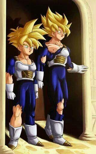 Goku y gohan sala del.tiempo