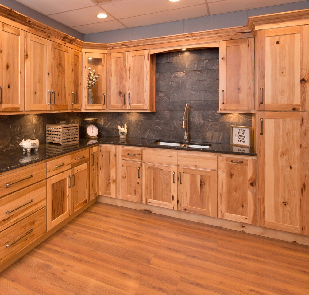 Knotty Pine Kitchen Cabinets For Sale: Carolina Hickory Kitchen Cabinets In 2019