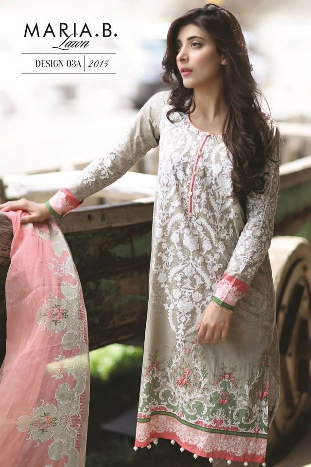 MARIA B  Spring Summer Lawn Col  2015 is part of lawn Suits Maria B - summer lawn collection in bright shades and exclusive embroideries