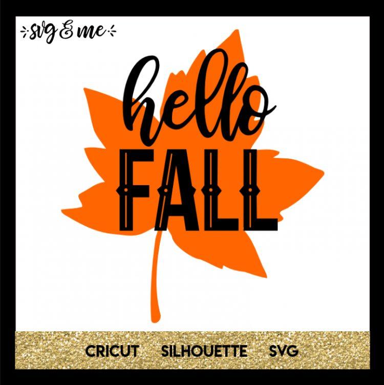 Hello Fall Hello autumn, New shirt design, Cricut