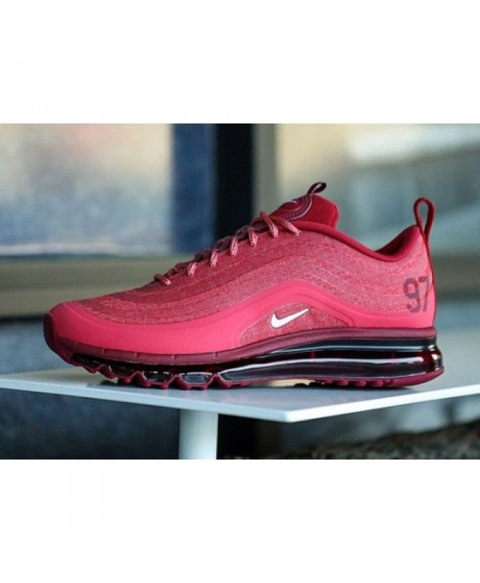 9d3296f96ce906 Nike Air Max 97 Cardinal Red Shoes