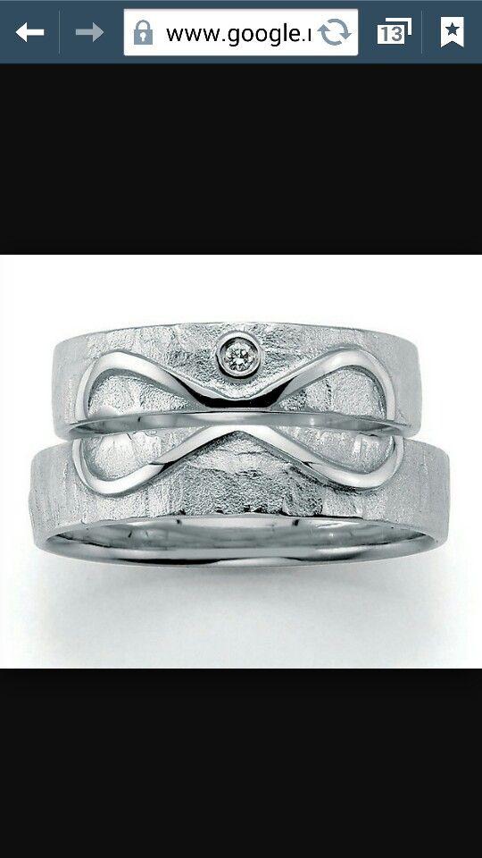 Infinity trouw ring