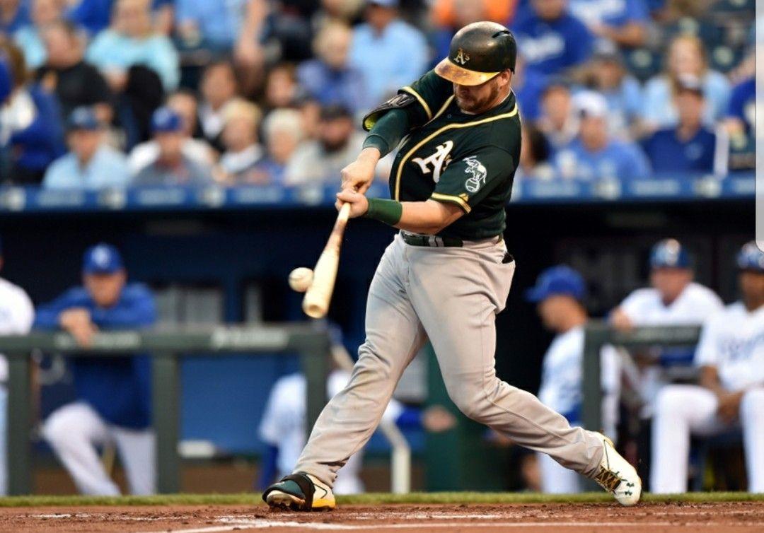 Stephen Vogt Batting gloves, Baseball cards, Baseball
