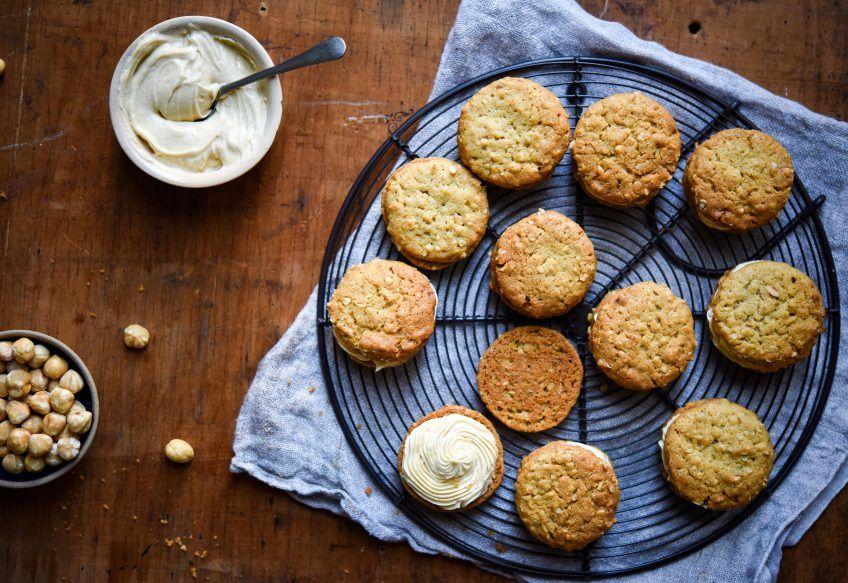 Peanut Butter Sandwich Biscuits Recipe Bouchon bakery