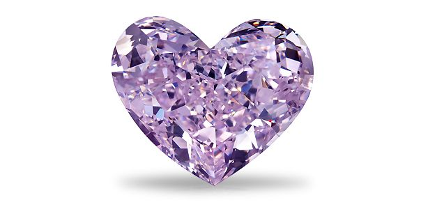 paperweight products purple personalised diamond