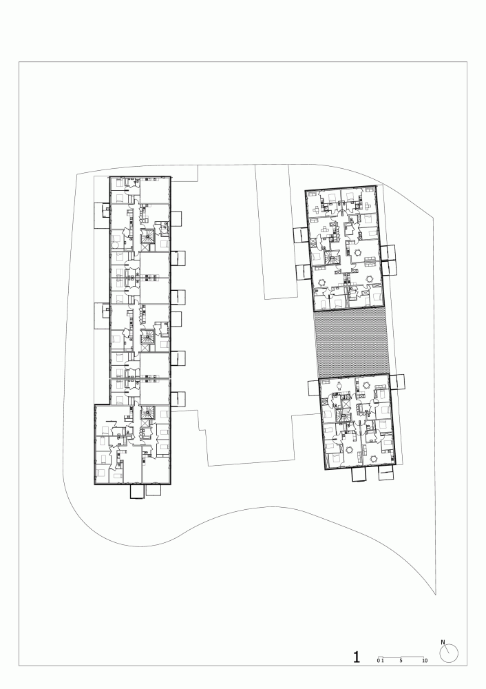 Gallery Of Pradenn Housing Block