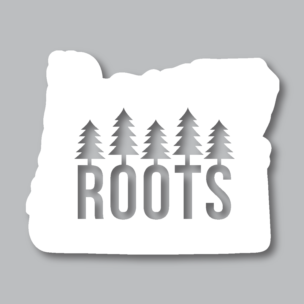 One of our most popular stickers our oregon roots diecut sticker is perfect for any oregon native they make great gifts any oregonian will love