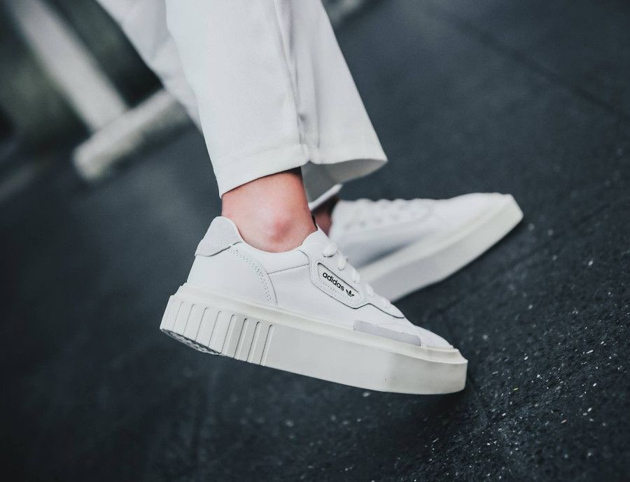new authentic get cheap pick up Avis : Adidas Hypersleek W blanche Ftwr White Off White ...