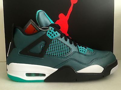 DS Nike Air Jordan 4 IV RETRO Teal Size 13/ Size 14
