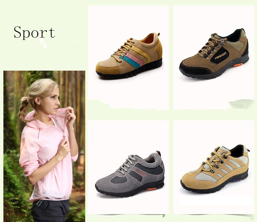 sport height increasing shoes for women