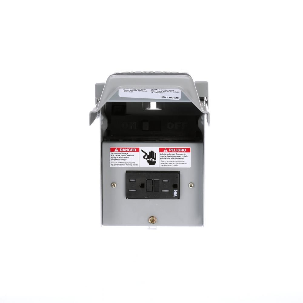 60 Amp Outdoor Non Automatic Switch Ac