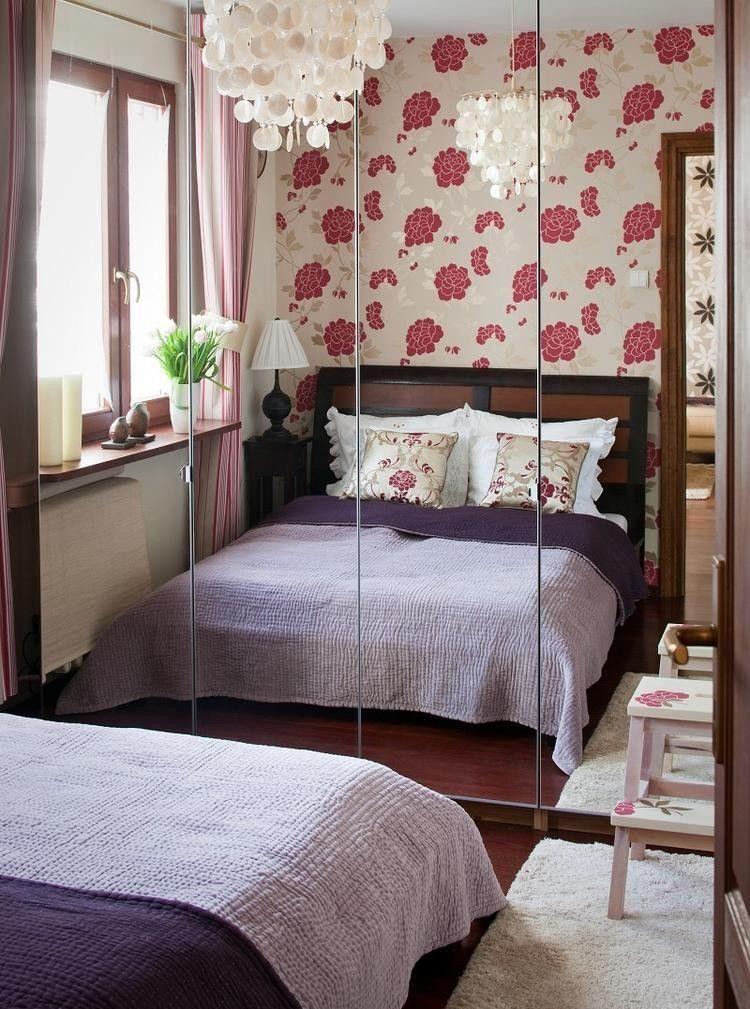 Wohnungseinrichtung Ideen Schlafzimmer Einbauschrank Spiegeltueren