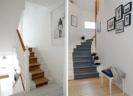 Old House Staircase Styles | PAINTED STAIRS: A Colorful Way To Step Up Your  House Style