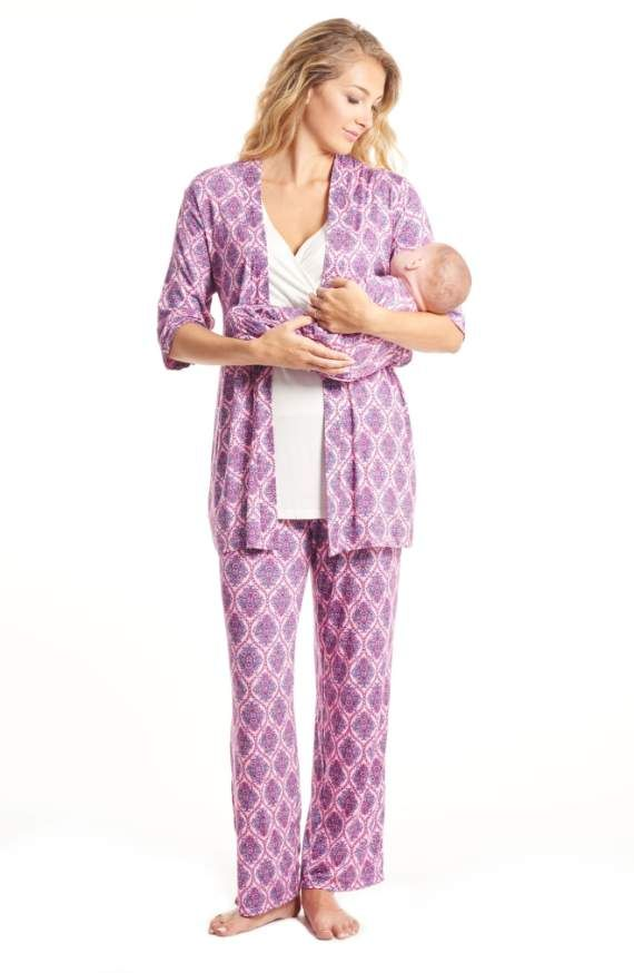 b09227d76fe47 Product Image 5 Maternity Nursing Pajamas, Nursing Pajama Set, Maternity  Pajama Set, Maternity