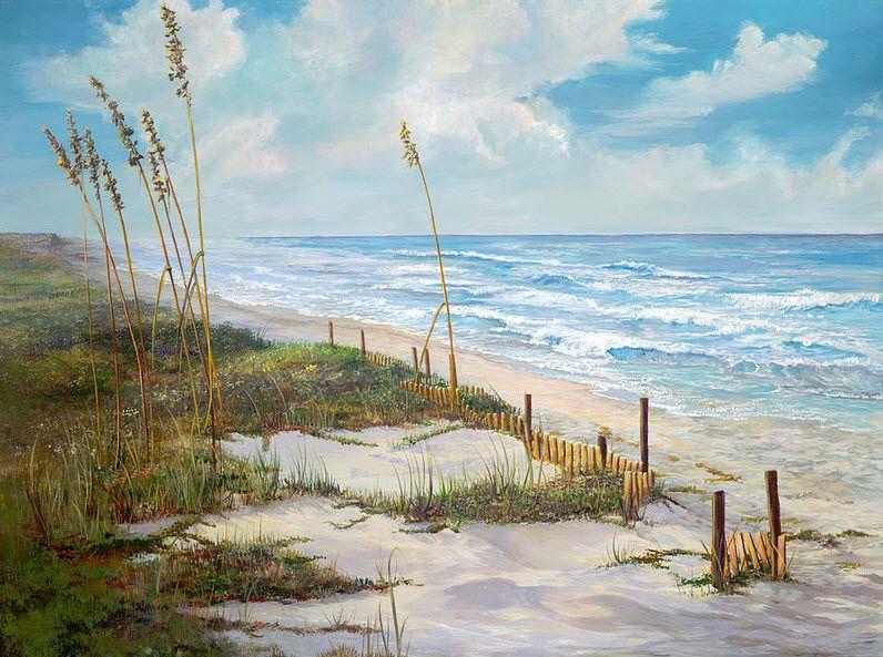 Beautiful Place To Be Peinture Aquarelle Peinture Paysage Et