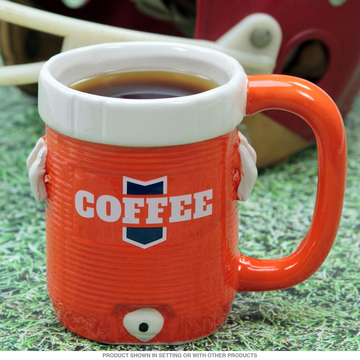 Funny 12 Oz. Coffee Cup With Novelty Design Of