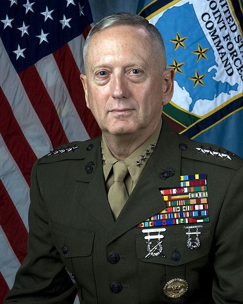 James N. Mattis is a United States Marine Corps general and the current commander of United States Central Command. Now, THIS is a man I'd like to see run for the Presidency! Oorah!