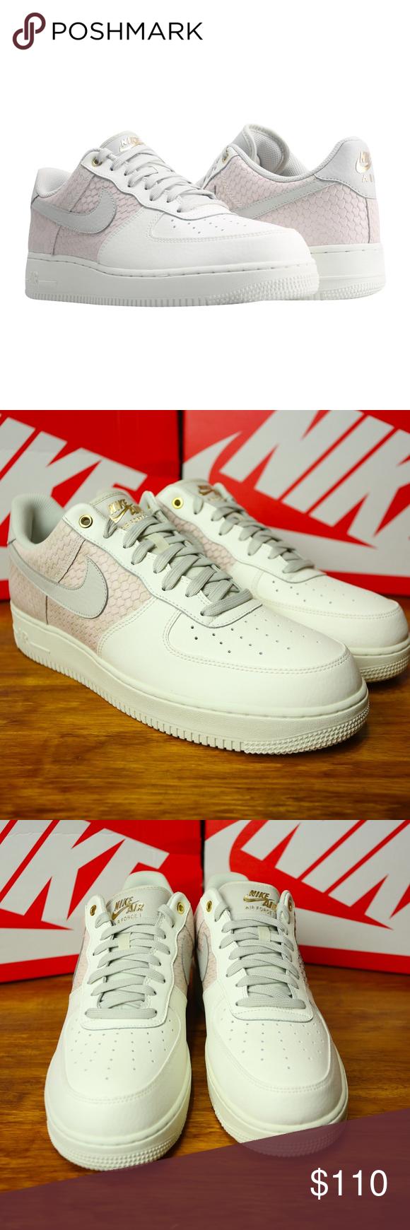 Nike Air Force 1 07 LV8 Sail Gold 823511 100