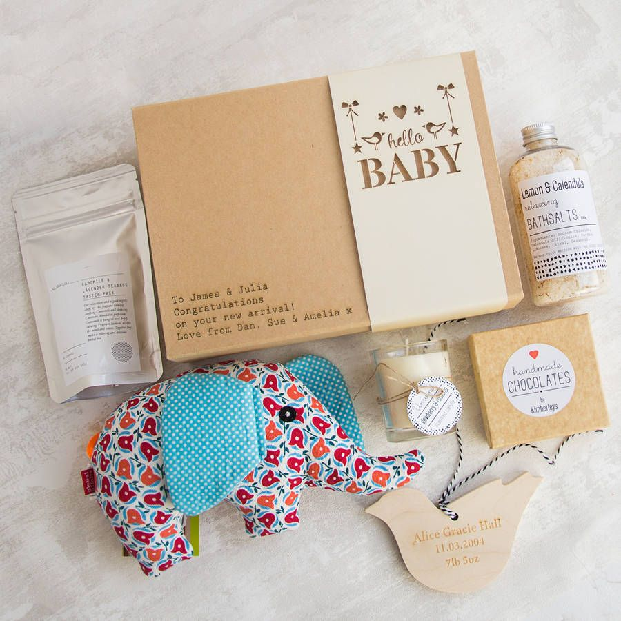 Image result for hello baby box summer product types pinterest hello baby personalised gift box gifts for new parents negle Image collections