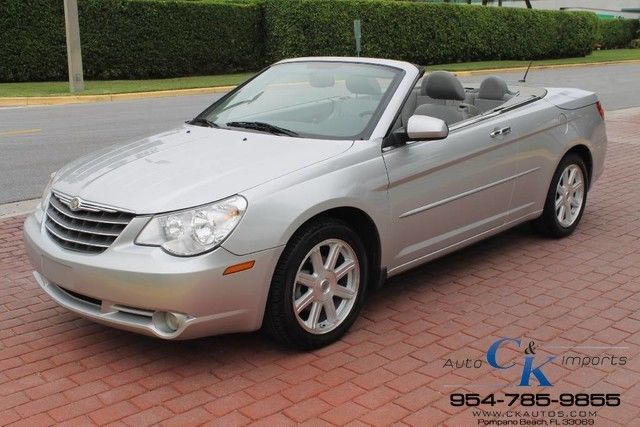 Car Brand Auctioned Chrysler Sebring Convertible Limited