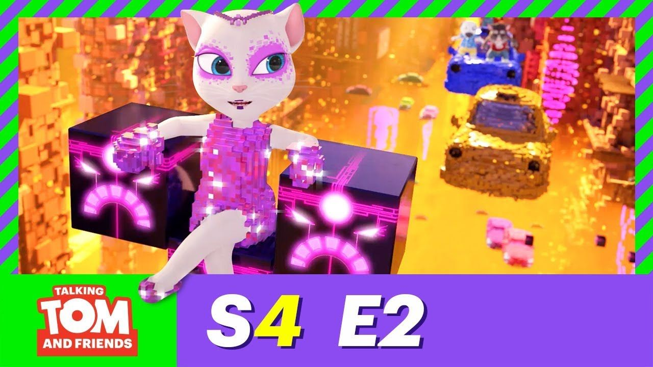 Talking Tom And Friends In English Videos 2019 The Digital Queen Season 4 Episode 2 Look Online For Infants Collect Friends Season Talking Tom Friends Episodes