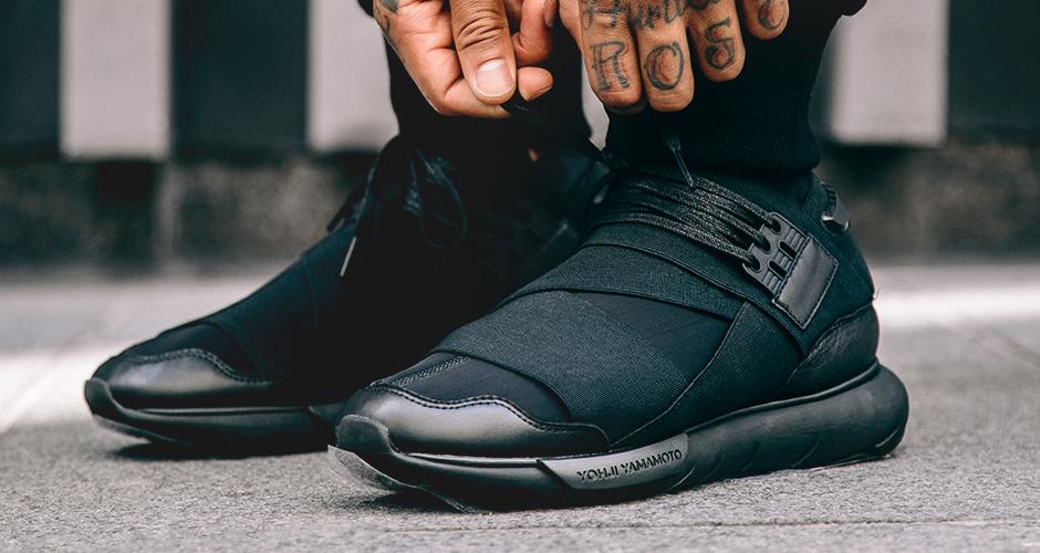 ADIDAS Y 3 QASA HIGH 'ROYAL REDBLACK' via More SneakersMore