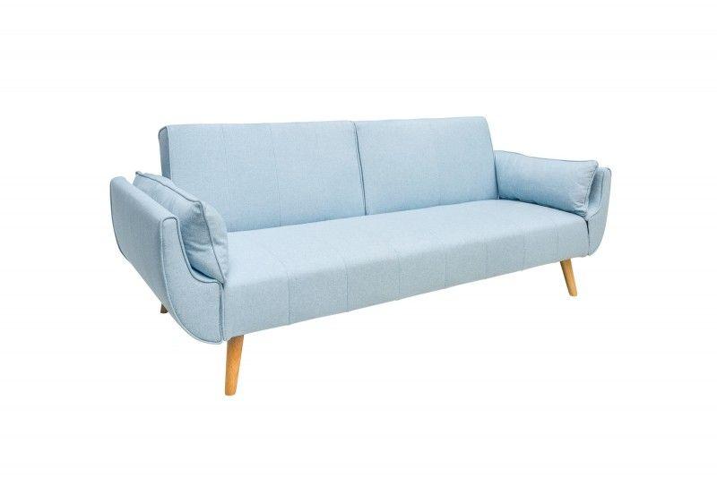 Piekna Elegancka Sofa Z Funkcja Spania Divini To Mebel Utrzymany W Klimacie Stylu Skandynawskim Sofa Dzieki Jej Wykonaniu W Aksamicie I Furniture Sofa Decor
