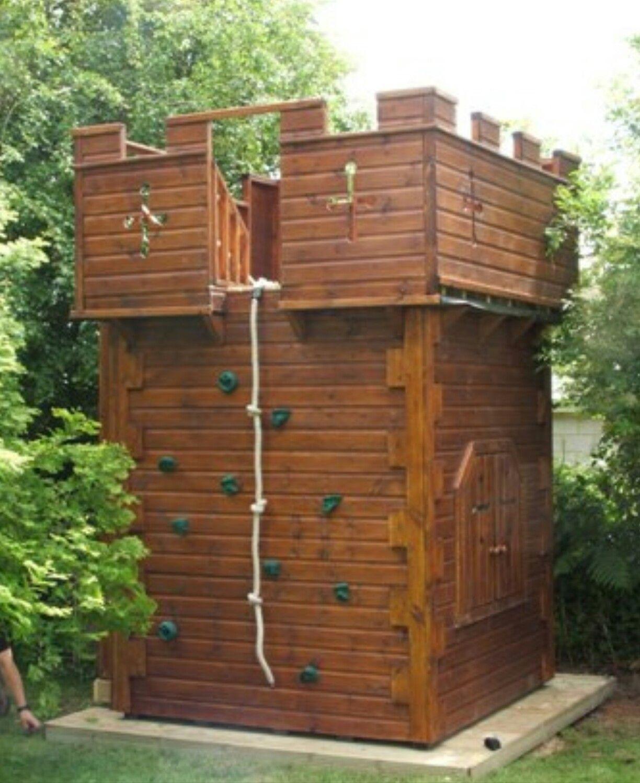 Play Houses, Backyard For Kids, Backyard