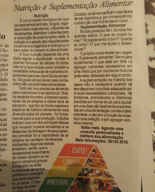✔pictame webstagram 🔥🔥🔥 Instagram post by @tricao | Pedaço  da minha matéria no jornal  do ABC.