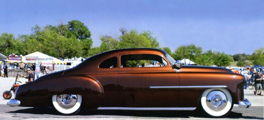Kustoms Of The 50s Location Phoenix Az Candy Paint Cars Lead Sled