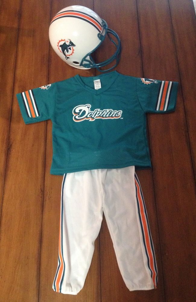 c82503e1 NFL Miami Dolphins Kids/Youth Uniform. Size Small. 3-Piece-By ...