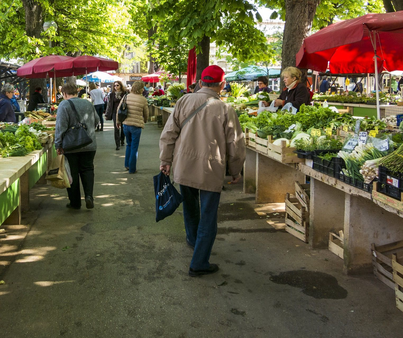 Farmers market vendors need training to improve food