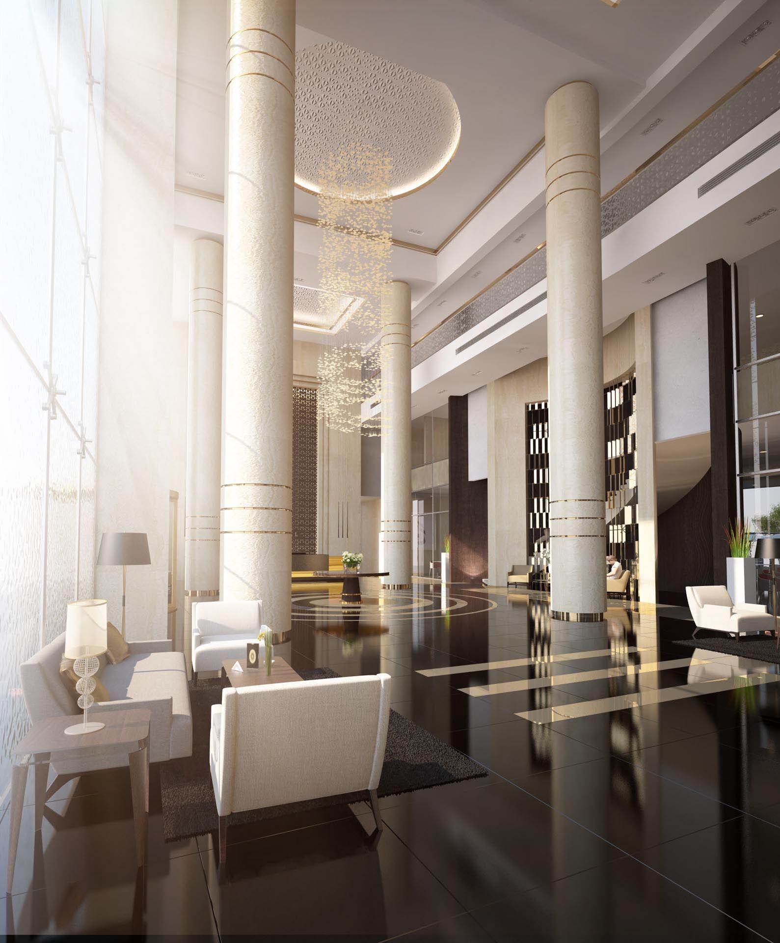 Popular Interior Interior Column Design Ideas With: Interior, Lobby