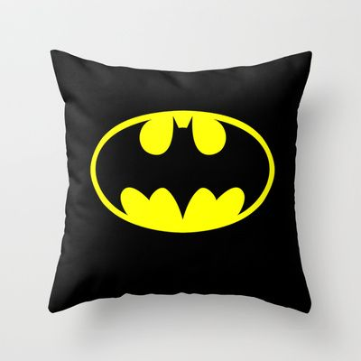 BATMAN Throw Pillow | Gift Ideas for Boyfriend | Almofadas ...