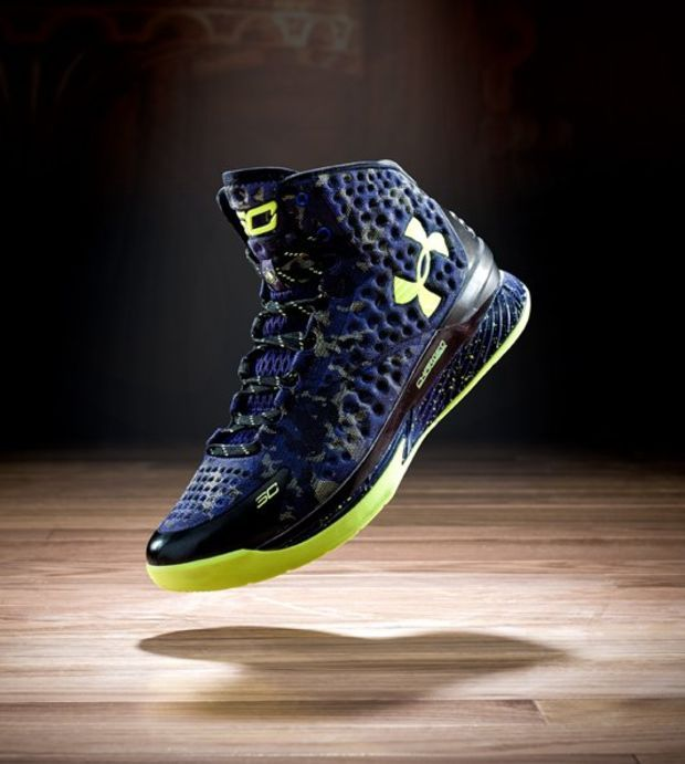James Harden Under Armour: Stephen Curry One Basketball Shoes