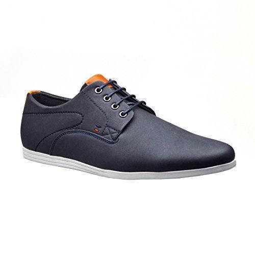 ClassyDude - Zapatos Planos con Cordones hombre , color marrón, talla 41 EU