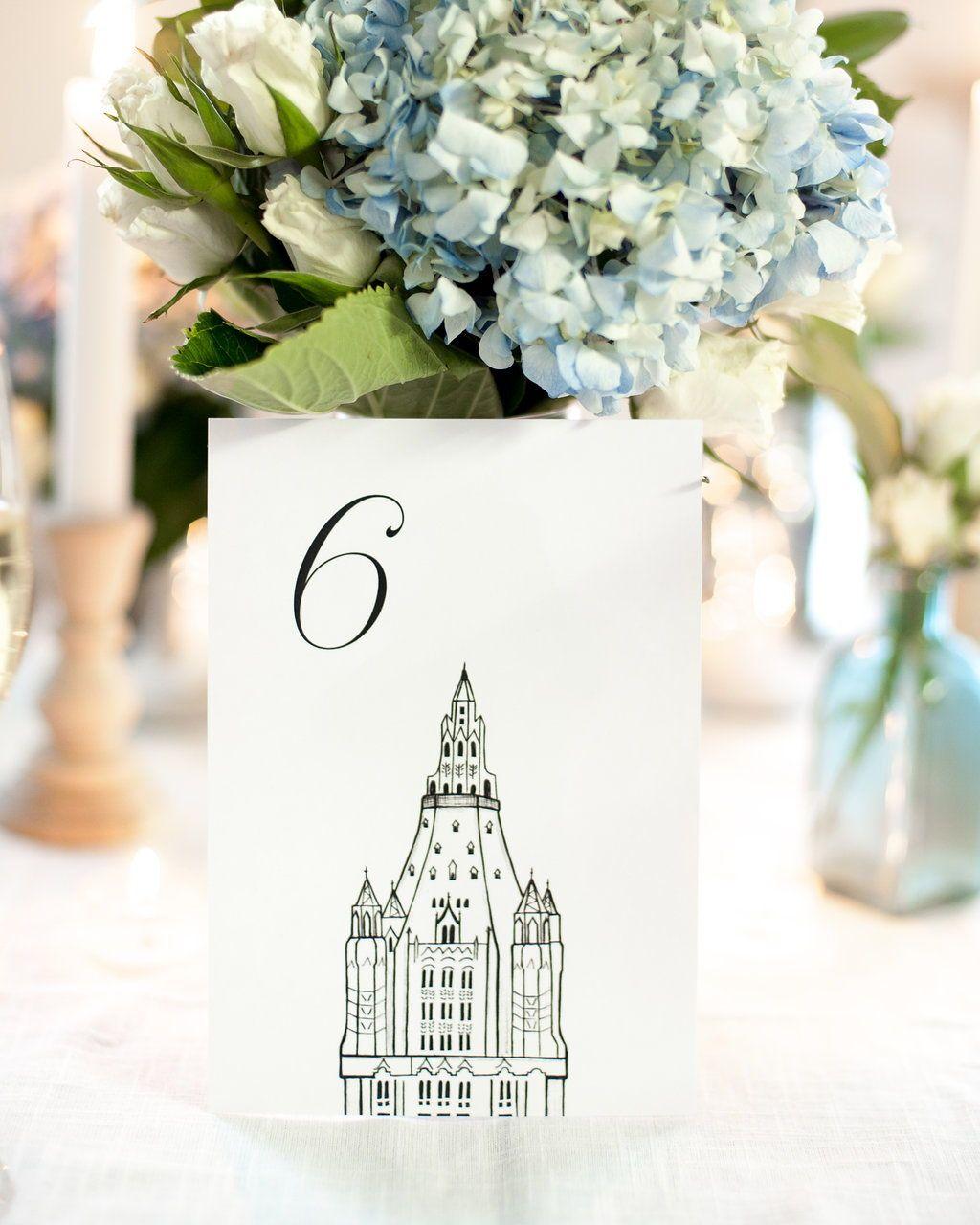 Modern City Wedding Theme Vignette - Wedding Idea 2018 ...