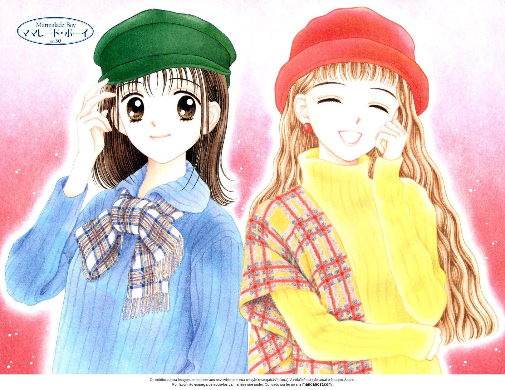 Marmalade Boy manga 秋月, ママレードボーイ, 漫画