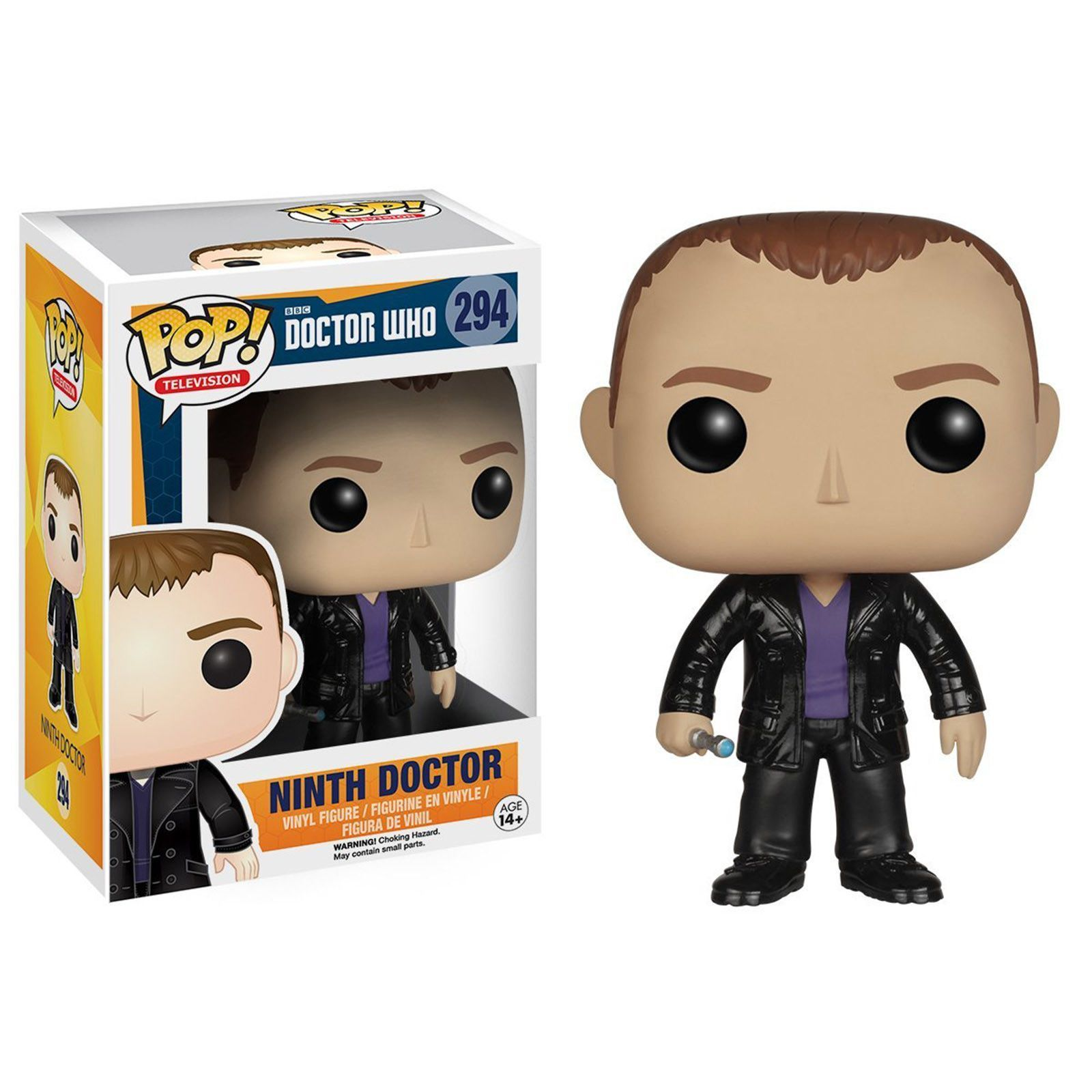 Funko Doctor Who Pop Ninth Doctor Vinyl Figure Pop Vinyl Figures Vinyl Figures Ninth Doctor
