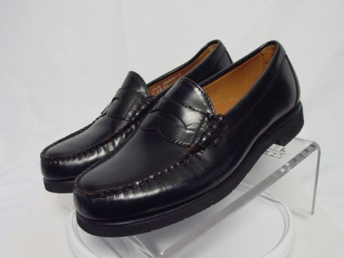 Sebago mens Classic Penny Loafers Black 42