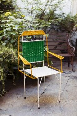 Carolina Castiglioni Director Of Special Projects At Marni At Home In Milan The Selby I N S Ii In 2019 Outdoor Chairs Furniture Outdoor